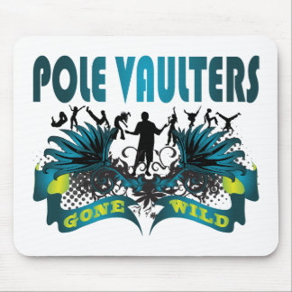 Pole Vaulters Gone Wild Mouse Pad