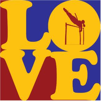 Pole Vaulting Love Photo Sculptures
