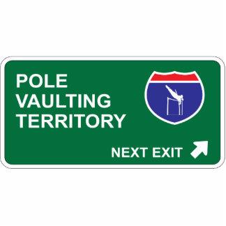 Pole Vaulting Next Exit Photo Cut Out