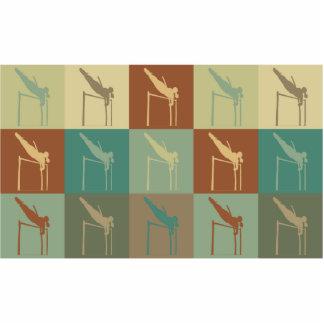 Pole Vaulting Pop Art Photo Cutouts