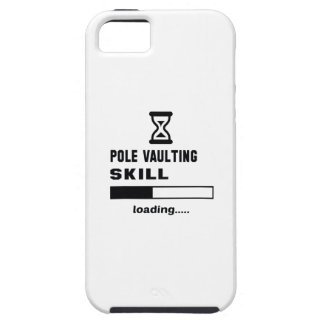 Pole Vaulting skill Loading...... iPhone SE/5/5s Case