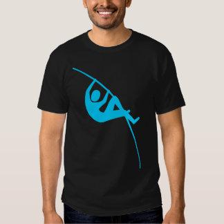 Pole Vaulting - Sky Blue T Shirts