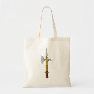 Poleaxe of Edward IV Tote Canvas Bag