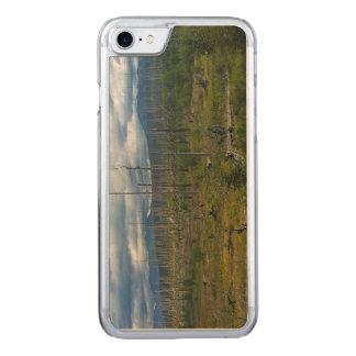 Polebridge Area Burnout Glacier National Park Carved iPhone 8/7 Case