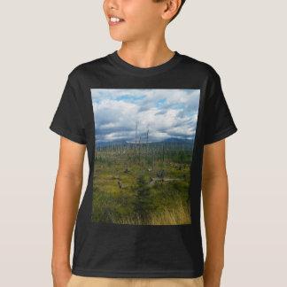 Polebridge Area Burnout Glacier National Park T-Shirt
