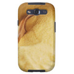 Polenta with wooden spoon and bowl galaxy s3 cover