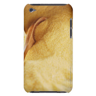 Polenta with wooden spoon and bowl iPod touch cover