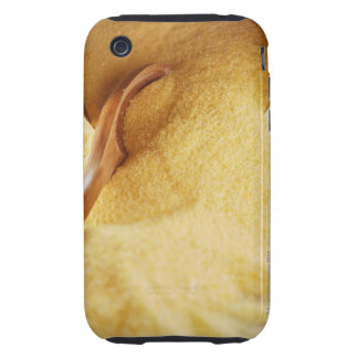 Polenta with wooden spoon and bowl tough iPhone 3 case