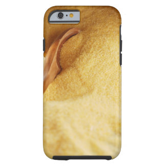 Polenta with wooden spoon and bowl tough iPhone 6 case