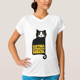Polera animalista Captura, esteriliza, suelta T-Shirt