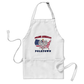 Poletown Michigan Polish Adult Apron