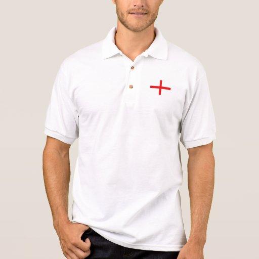 Poli Camisia Crucis S. Georgii Camiseta