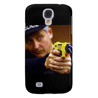 Poli con un arma de Taser Funda Para Galaxy S4