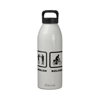 Poli de la bicicleta botellas de beber
