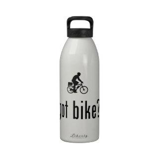Poli de la bicicleta botella de agua reutilizable
