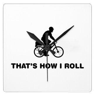 Poli de la bicicleta reloj