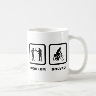 Poli de la bicicleta tazas de café