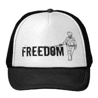 Poli de rociadura de la pimienta de la libertad gorra