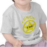 Poli del almuerzo camisetas