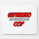 Poli del super héroe… alfombrilla de raton