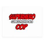Poli del super héroe… tarjetas postales