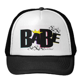 "POLI$HED- ""BABE"" hat"