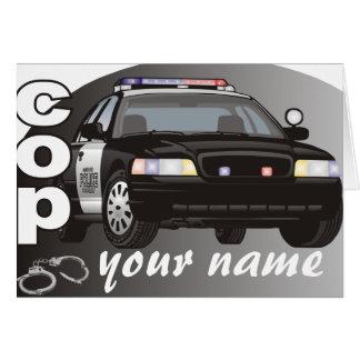 Poli personalizado tarjeta