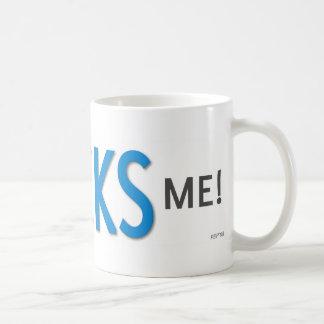 Poli Ticks Me Classic White Coffee Mug