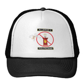 Poli-Ticks Trucker Hat