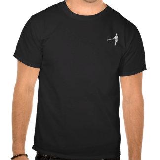 ¡Poli y usted de rociadura de la pimienta! Retrato Camiseta