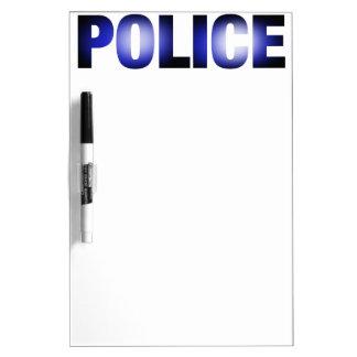 Police 3 Dry-Erase boards