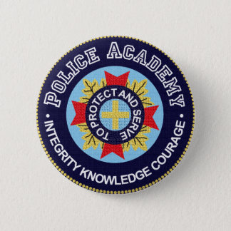 Police Academy Button