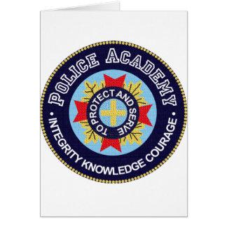 Police Academy Card