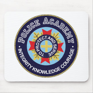 Police Academy Mouse Pad