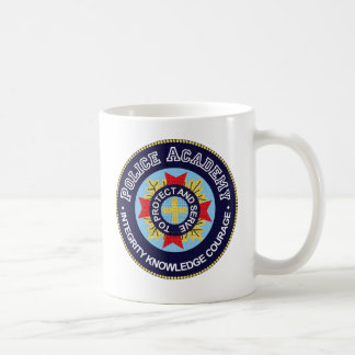 Police Academy Classic White Coffee Mug