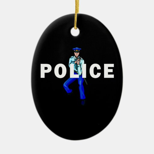 Police Action Christmas Tree Ornament