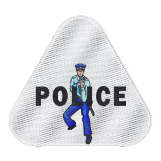 Police Action Logo Bluetooth Speaker