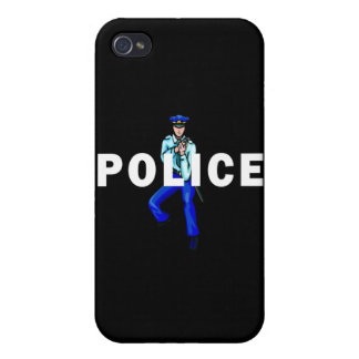 Police Action Logo iPhone 4/4S Cases