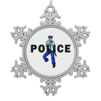 Police Christmas Ornaments For Holidays