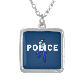 Police Action Custom Necklace