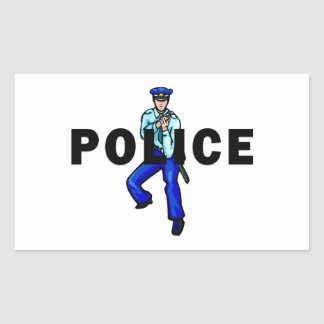 Police Action Sticker