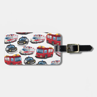 Police, Ambulance and Fire Service transport Bag Tag