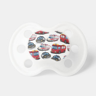 Police, Ambulance and Fire Service transport Pacifier