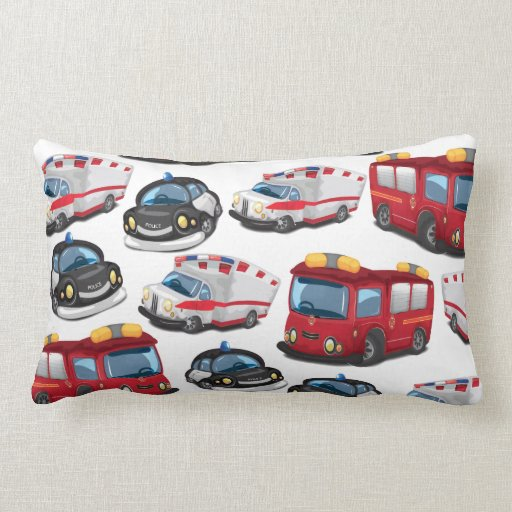Police, Ambulance and Fire Service transport Pillow