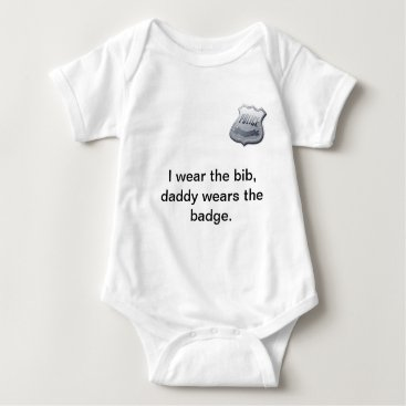 Toddler & Baby themed Police Baby Onsie Baby Bodysuit