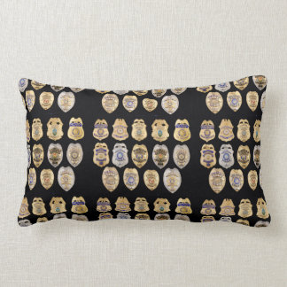 police badge pillow