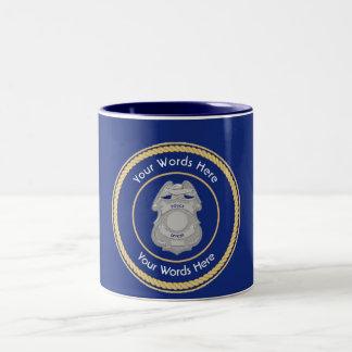 Police Badge Universal Shield Mug