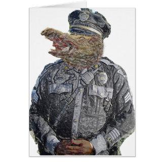 Police Beast Card