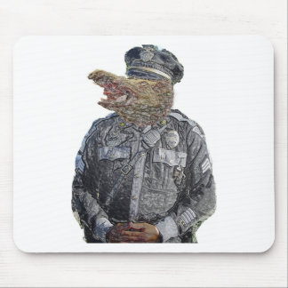 Police Beast Mouse Pad
