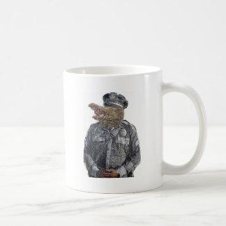 Police Beast Mug